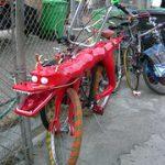 乗っていいのかどうかわからない自転車