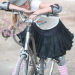 自転車で遊び疲れて