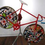自転車はキャンバス