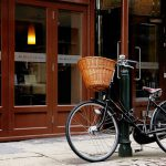 カゴのある自転車