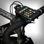 自転車にiPhoneをマウントする「GoRide iPhone Bike Mount」