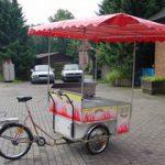 自転車が商売道具