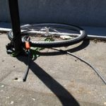 高級自転車の盗難が増えているという