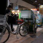 エコプロダクツ2011:ヤマト運輸のリヤカー付き電動アシスト自転車
