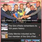 ジロ・デ・イタリア 2012をiPhoneで楽しむ