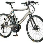 チタンフレームを採用した電動アシスト自転車「パナソニック チタンフラットロードEB」と「チタンライトEB」