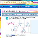 ロンドンオリンピック 自転車男子個人タイムトライアル、8月1日(水)午後10時10分頃よりライブストリーミング