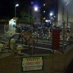 北参道交差点そば、首都高下の「北参道第二自転車駐車場」