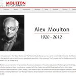 アレックス・モールトン氏が死去