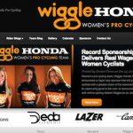 女子チーム「Wiggle Honda Pro Cycling」のWebサイトとジャージデザイン