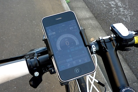 ... いたiPhone 3GSが…… | CyclingEX