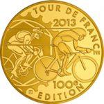 ツール・ド・フランス第100回大会の記念貨