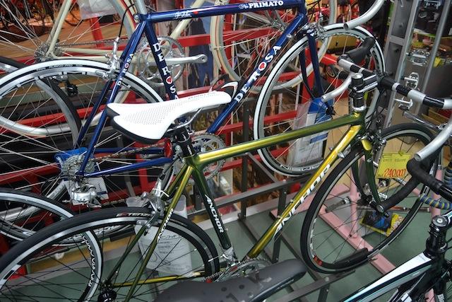 シティサイクルからスポーツサイクルまで幅広く揃う中島サイクル。アンカーのロードバイクも取り扱い