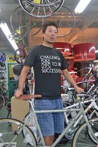 中島サイクル 代表の三浦茂雄さん