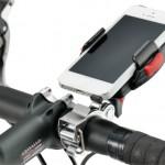 様々な大きさのスマートフォンに対応したホルダー「ミノウラ iH-200/iH-500」