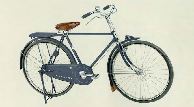 自転車の 自転車 軽快車とは : 1961年の「ツバメ自転車 ...