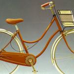 【旧車】ブリヂストンサイクルとセリーヌがコラボした「シルエット セリーヌ」