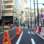 大訂正:新虎通り(マッカーサー道路)の自転車通行環境は道交法上の「自転車道」である