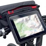 ふだんはフロントバッグ、しかもタブレットをステム上にマウントできるRIXEN & KAULの「パッドバッグ」