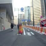 舛添都知事、自転車通行環境を視察した上で、とくに何も変えないことを表明……とのこと