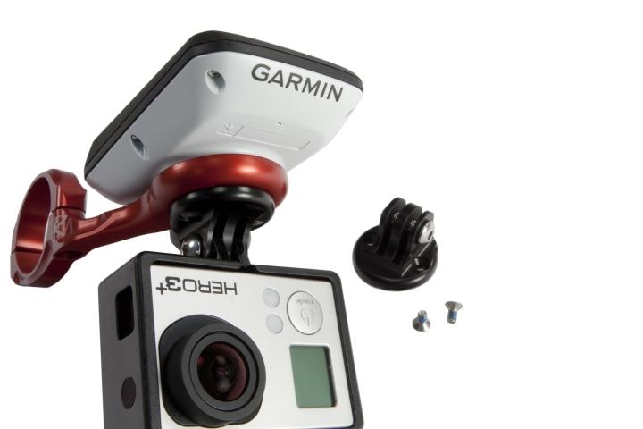 「K,Edge コンボマウント K13,500C」は、Garmin Edge 200・500・510・800・810の各モデルと、GoProを同時 マウント可能にした製品。GoPro対応ということは、もちろん\u2026