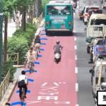 国道246号三軒茶屋~駒沢でバスレーンに自転車ナビライン設置へ