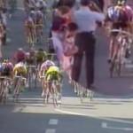 1994年ツール・ド・フランス 第1ステージのゴール前スプリントで起きた事件