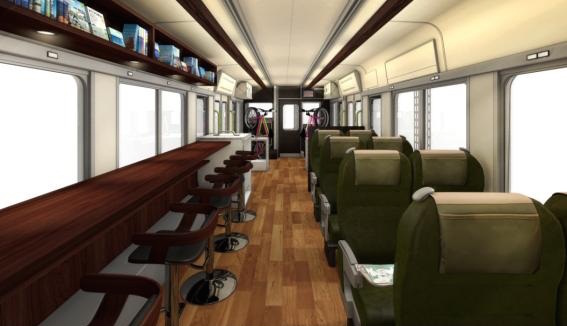 Jr西日本の新観光列車はサイクルスペースを設置予定 Cyclingex