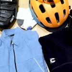 コネタ:ふだん着ているサイクリングウェアを……