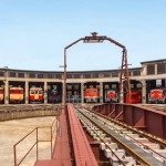 TOURIST SPOT:古い機関庫を活用した「津山まなびの鉄道館」