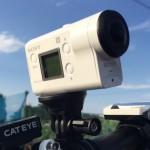 空間光学手ぶれ補正を搭載したアクションカム「SONY HDR-AS300」をMTBに装着して走ってみた(2)砂利道編