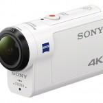 空間光学手ぶれ補正を搭載したアクションカム「SONY FDR-X3000」と「HDR-AS300」