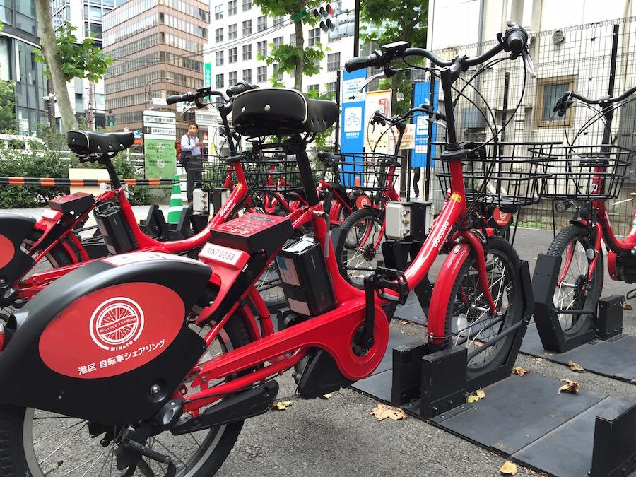 ドコモ・バイクシェアの提供するレンタル自転車:CyclingEXより引用