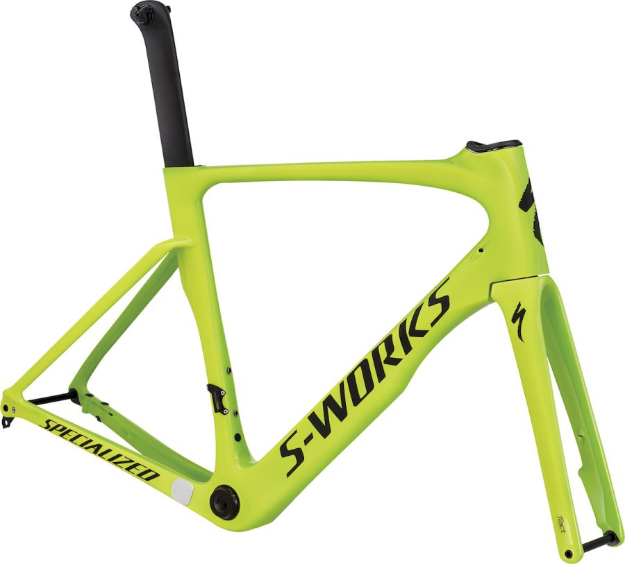 S-WORKS VENGE DISC ViAS FRAMESET(GLOSS MONSTER GREEN/TEAM YELLOW/SATIN BLACK)