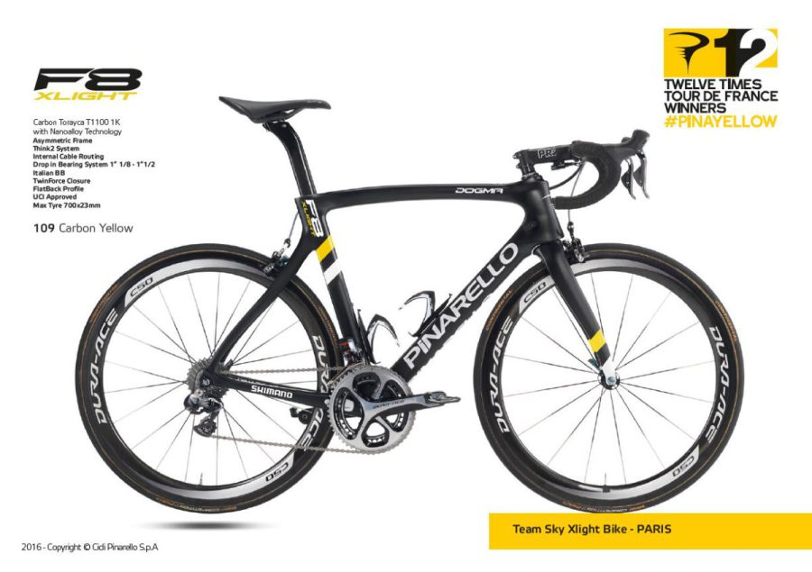 DOGMA F8 Xlight SPECIAL EDITION/109 Carbon Yellow