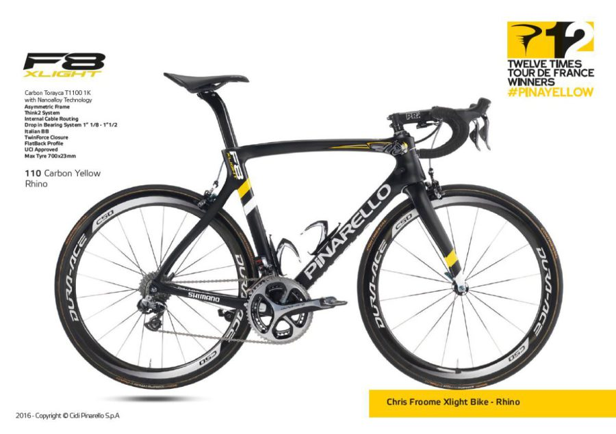 DOGMA F8 Xlight SPECIAL EDITION/110 Carbon Yellow Rhino