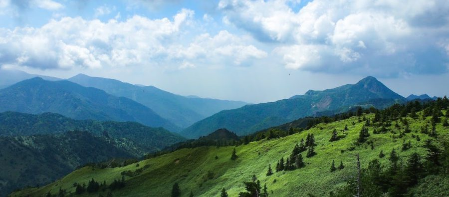 草津から渋峠へ、絶景路を行く。