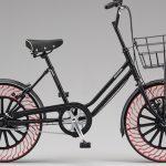 2019年実用化を目指す:ブリヂストンとブリヂストンサイクルが次世代自転車タイヤ「エアフリーコンセプト」の開発を発表