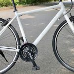 BRI-CHAN:24段変速のクロスバイクで急な坂を上る