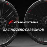 フルカーボンリムにアルミスポークを組み合わせたディスクブレーキ用ホイール「FULCRUM RACING ZERO CARBON DB」
