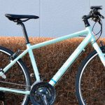 BRI-CHAN:実はサドルにこだわった街乗り自転車「BRIDGESTONE GREEN LABEL」