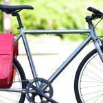 RITEWAYのクロスバイク「SHEPHERD」にパニアバッグをセットにした「ツーリングキット」