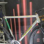 サイクルモード2019:COLUMBUS 100周年の記念チューブを使用した「CHERUBIM CENTO RACER」